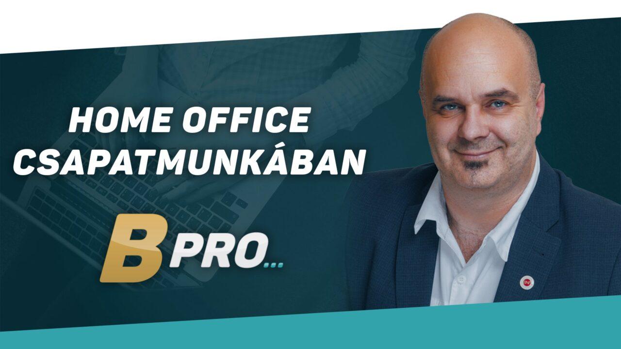 Home office csapatmunkában